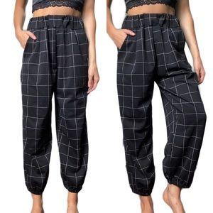 oak+fort grid trousers
